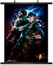 CWS-Media Group Officially Licensed Resident Evil 5 Game Wall Scroll Poster 32 x 43 Inches