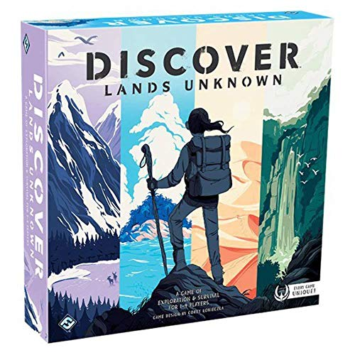 Discover: Lands Unknown Board Game  $11 at Amazon