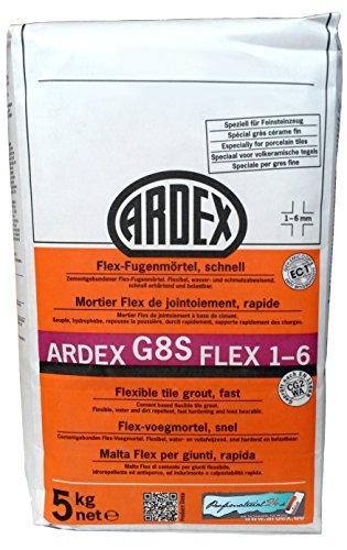 ARDEX G8S Flex-voegmortel 1-6 mm 5 kg, kleur