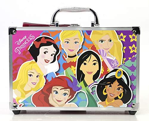 Disney Princess Makeup Train Case - Maletín de Maquillaje de 2 Pisos...