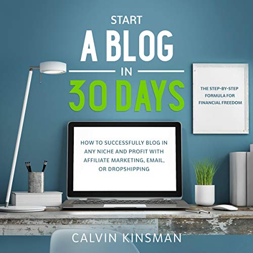 Start a Blog in 30 Days cover art