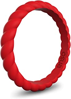Best enso womens braided silicone ring Reviews