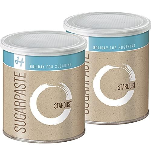 Zuckerpasten Stardust Strong 2 x 1 kg Sugaring die effektive langfristige Haarentfernung ohne Vliesstreifen in der Flicking Technik