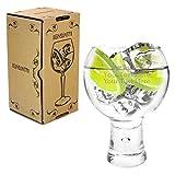 Ginsanity [Alternato groß Personalisiert [540 ml] Short Stem Copa Glas Gin und Tonic [G&T] Balloon...