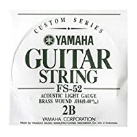 YAMAHA フォークギター弦 バラ弦 FS52 2B .016インチ