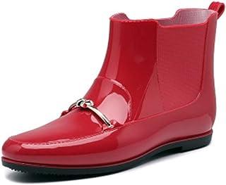 ZOSYNS Dameslaarzen, herbruikbaar, modieus, waterdicht, rubberen laarzen, antislip, regenlaarzen, outdoorschoenen, 36-41