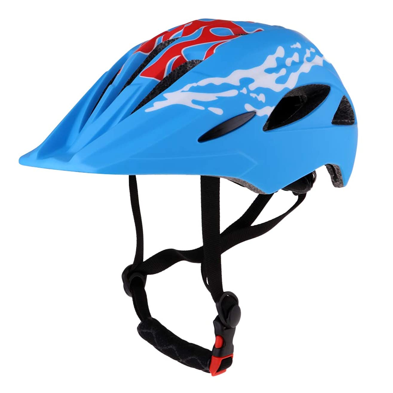 ハッチシュート内向きPerfeclan ヘルメット 子供用 自転車 軽量 スポーツヘルメット 通学 スキー 登山 バイク スケートボードなど適用