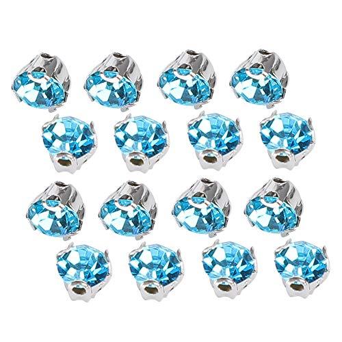1440 piezas de diamantes de imitación de garra de costura accesorios de...