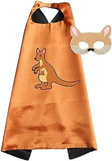 Traindrops Kangaroo Dress Up Costume Cape and Mask Set
