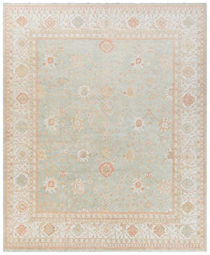 Safavieh Oushak Collection OSH117B Hand-Knotted Traditional Oriental Premium Wool Area Rug, 9