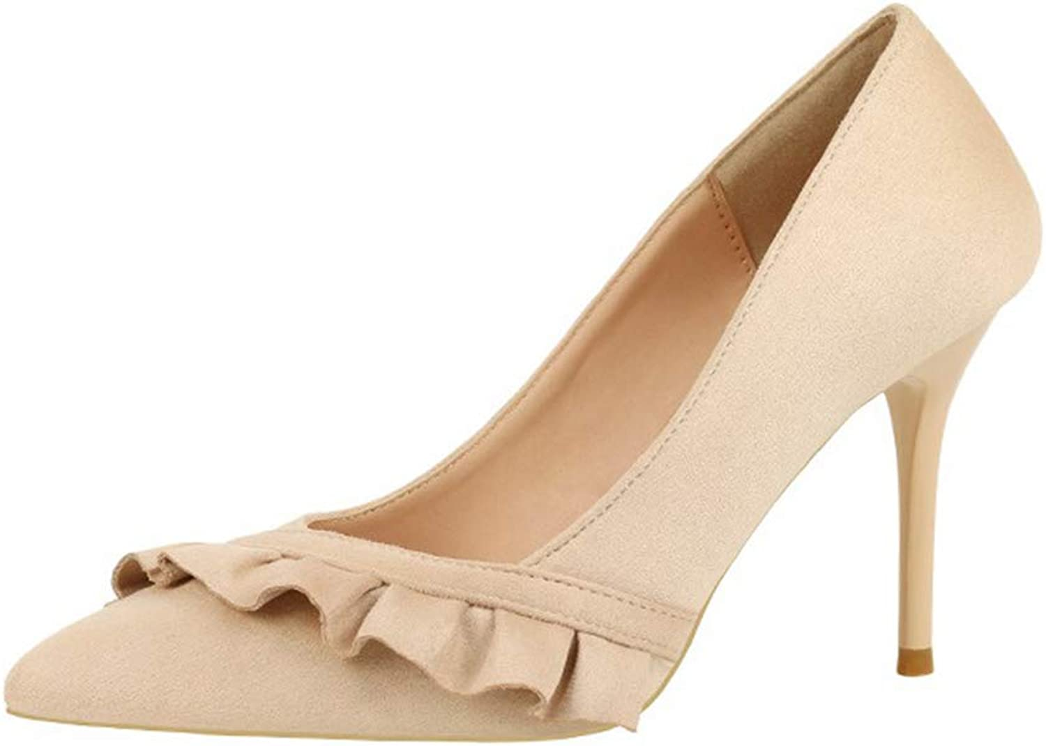 Kyle Walsh Pa Women OL Pumps Ladies Elegant High-Heeled Office shoes Pointed Toe Stiletto