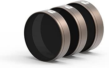 PolarPro Shutter Collection – Cinema Series Filter 3-Pack (ND8, ND16, ND32) for DJI Phantom 4 Pro/Adv V1 and V2