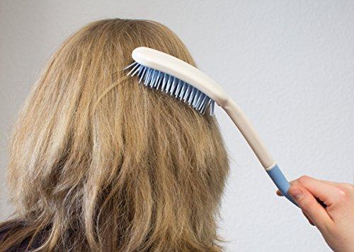 Haarbürste mit Formgriff | Hilfsmittel | Alltagshilfe | Seniorenhilfe | Seniorenkamm