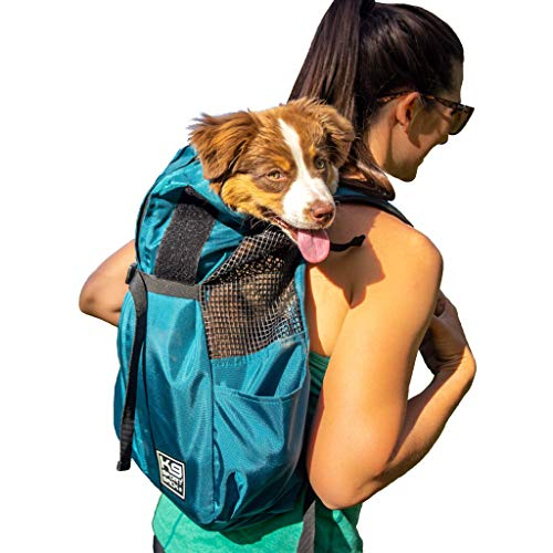 K9 Sport Sack Trainer | Dog Carrier Dog Backpack for Small and Medium Pets | Front Facing Adjustable Dog Backpack Carrier | Veterinarian Approved (Small, Eclipse)