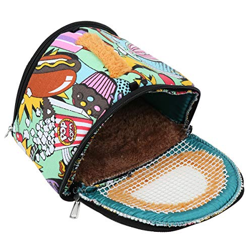 POPETPOP Pet Carrier Small Animal,Soft-Sided Pet Carrier Bag,Guinea Pig Carrying Case,Ferret Carrier,Chinchilla Carrier,Hedgehog Travel Carrier for Small Pet Only