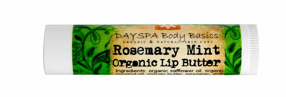 All-Natural Rosemary Mint Over item handling store ☆ Lip Butter Organic Cold-Pressed Oils -