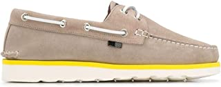 Luxury Fashion | Woolrich Men WFM2010903140 Beige Leather Loafers | Spring-summer 20