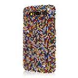 Samsung Galaxy Mega 5.8 Case, Empire Glitz Slim-Fit Case for Samsung Galaxy Mega 5.8 - Multi Color Bling