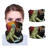 Trivium Ascendancy Adult Variety face Towel Neck Gaiter Balaclava Face Mask (2 PCS) Black