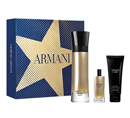 Armani Code Homme Absolue 110ml Eau de Parfum + 15ml Eau de Parfum + 75ml Duschgel