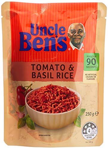 Uncle Ben's Tomato Basil Rice, 6 x 250g