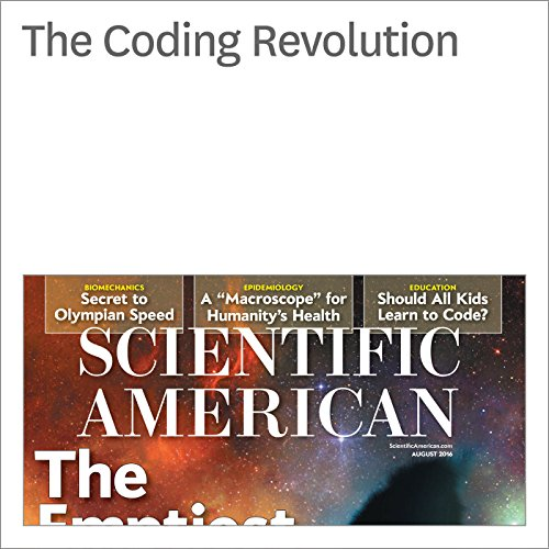 The Coding Revolution audiobook cover art