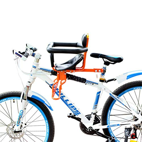 DGHJK Asiento Delantero Universal de Seguridad para Bicicleta Infantil Ajustable para niños de 8 Meses a 7 años