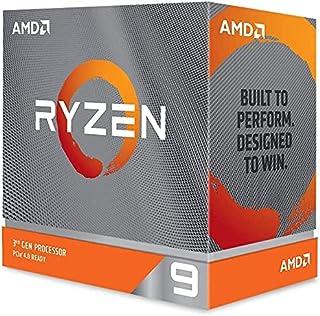 معالج الكمبيوتر المكتبي ايه ام دي رايزن 9، مزود ب 12 نواة و24 مسار، بدون مبرد - 3900XT