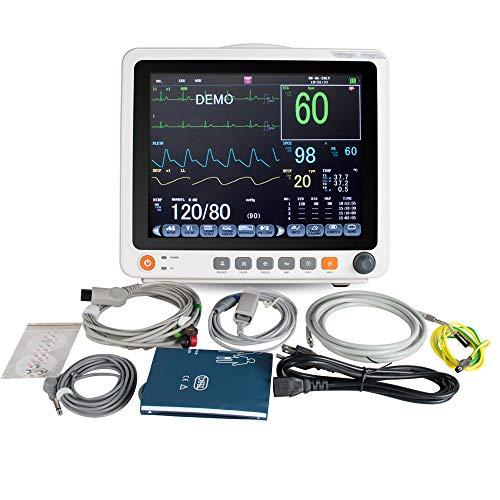 Portable Électrocardiogramme Numérique 12.1 Pouces ECG Machine