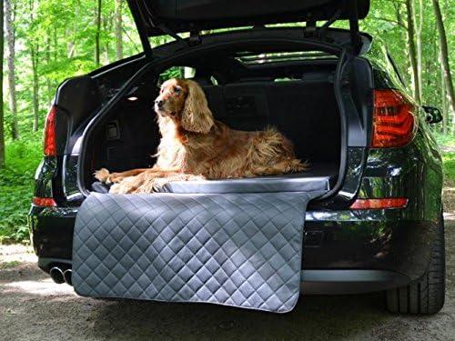 Autohundematte Kofferraum Schutzdecke Auto Hundebett In Grau Kunstleder Haustier