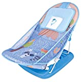 Mastela Baby Boy's and Baby Girl's Compact Delux Bather with Removable Head Support Cushion (Blue)