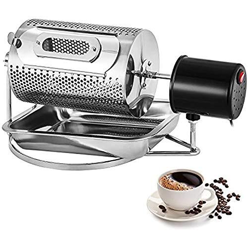 40W Kaffeebohnenröster Elektrohaushaltskaffeebohne Maschine, Kaffeebohnen Startseite Edelstahl Roaster Roller Kaffeeröster-Maschine,220v