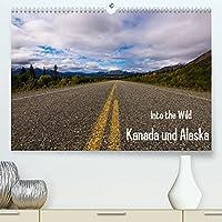 Into the Wild - Kanada und Alaska (Premium, hochwertiger DIN A2 Wandkalender 2022, Kunstdruck in Hochglanz): Abenteuer Wildnis und unberuehrte Natur (Monatskalender, 14 Seiten )