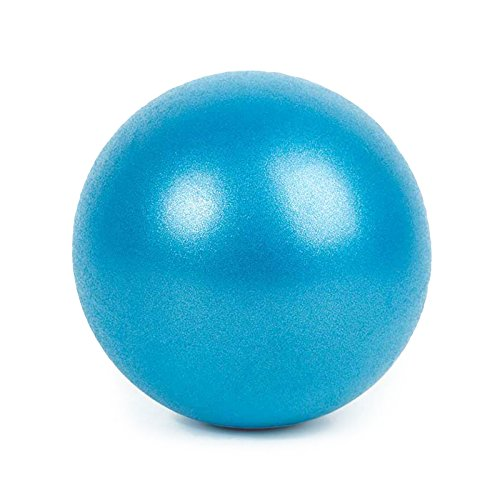 NWHEBET Gymnastikball Klein, Balance Ball Sitzball Fitness Ball 25cm Yoga Ball Anti-Burst Fitness Balance Ball für Core Strength,1 Stuck