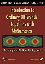 Introduction to Ordinary Differential Equations with Mathematica: An Integrated Multimedia Approach (Lecture Notes in Statistics; 123)