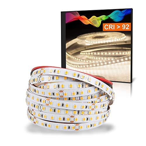 Mextronic LED Strip/LED Streifen 24V/72W IP20: 5m dimmbar - 4000K 2835 (neutralweiß)
