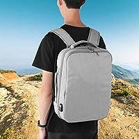 耐久性のあるビジネストラベルバックパックバッグ登山バッグトラベルバックパック学生、オフィスのための軽量ハイキングリュックサック(gray)