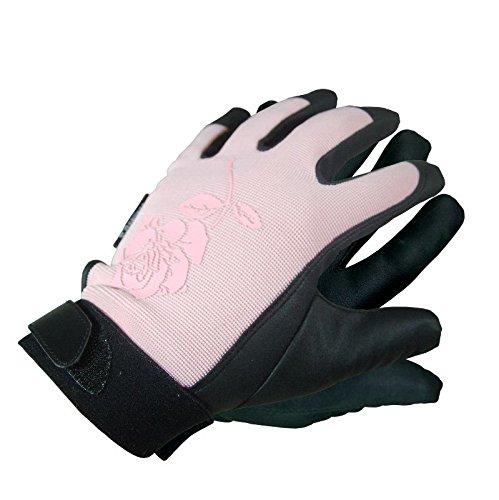 Grüner & Co. GmbH 'Gants de Travail Rose, en Cuir synthétique, différentes Tailles L