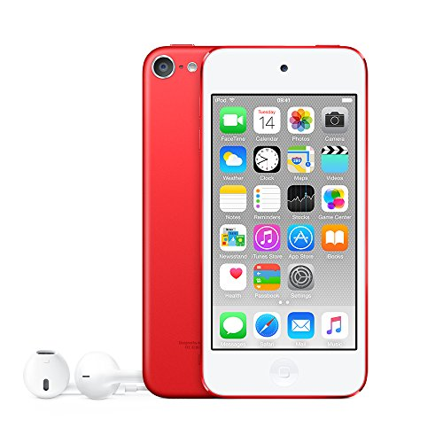 Apple iPod Touch 128GB MP4 Player 128GB Rojo – Reproductor MP3 (Reproductor de MP4, iOS, A8, M8, Rojo,…