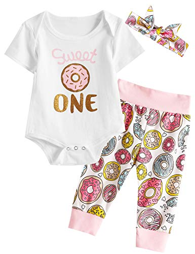 Shalofer Newborn Long Sleeve Cotton Sleepwear Infant Floral Nightgown with Hat