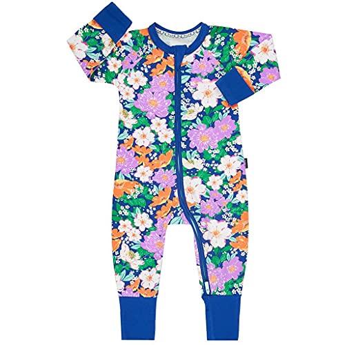 Bonds Zip Wondersuit Ditsy Garden, azul, 24 meses