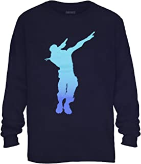 Fortnite Shirt Boy's Dab Dance Emote Long Sleeve T-Shirt