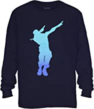 Fortnite Shirt Boy's Dab Dance Emote Long Sleeve T-Shirt