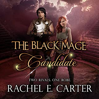 Candidate audiobook cover art