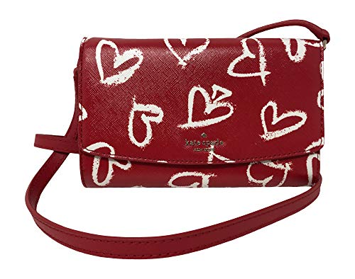 Kate Spade New York Laurel Leder Clutch, Rot
