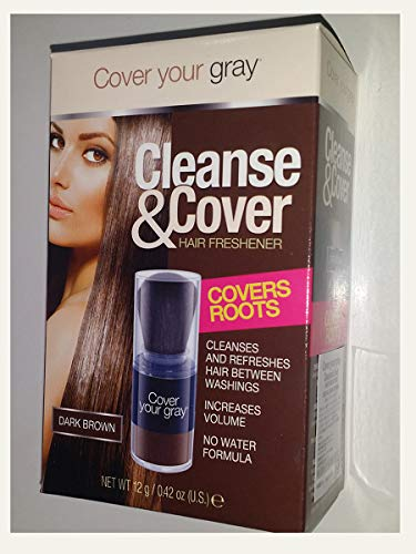 Cover Your Gray Cleanse y ambientador, color marrón oscuro