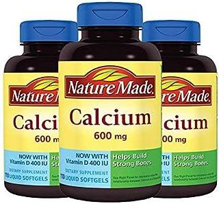 Nature Made 莱萃美 钙加维生素D 液体钙软胶囊600mg 110粒 *3瓶