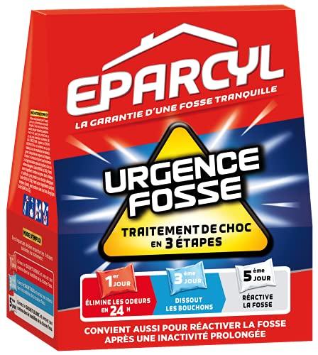 Eparcyl Urgence Fosse – 3 Sachets (Traitement de choc en 3 étapes) – Entretien Fosse Septique Urgence