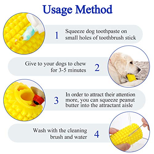Product Image 5: PEWOD Dog Toothbrush Chew Toy for Aggressive Chewers