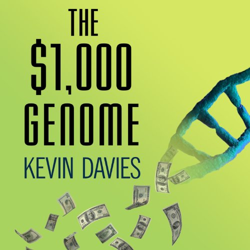 The $1,000 Genome audiobook cover art